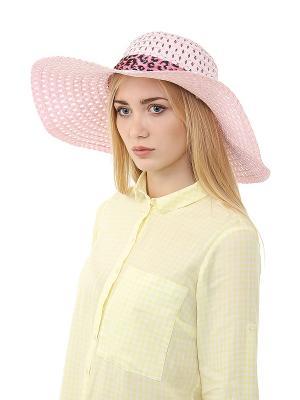 Шляпа Gusachi. Цвет: розовый, черный