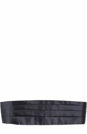 Шелковый камербанд Brioni. Цвет: темно-синий