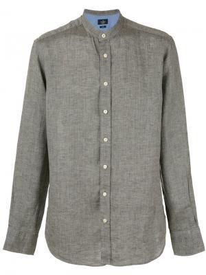 Однотонная рубашка Hackett. Цвет: none