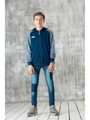 Куртка PELICAN. Цвет: синий