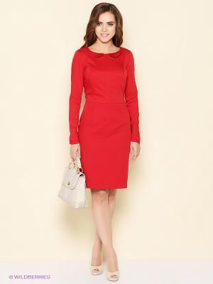 Платье Stets. Цвет: красный