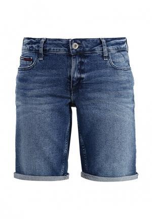 Шорты джинсовые Tommy Hilfiger Denim. Цвет: синий