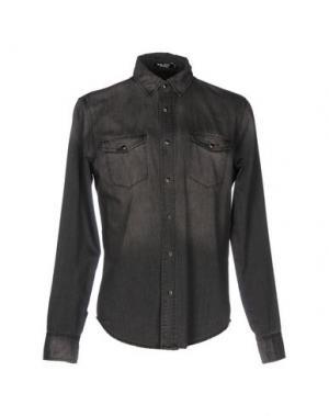 Джинсовая рубашка BLK DNM. Цвет: черный