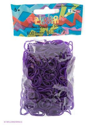 Резинки Темно-фиолетовый RAINBOWLOOM. Цвет: темно-фиолетовый