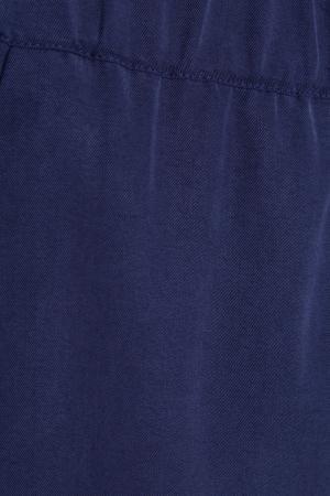 Однотонные брюки Akhmadullina DREAMS. Цвет: синий