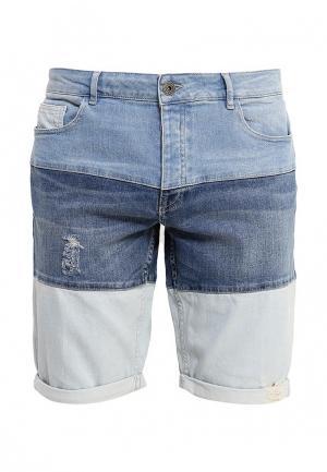 Шорты джинсовые Desigual. Цвет: голубой