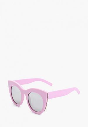 Очки солнцезащитные Skinnydip. Цвет: розовый