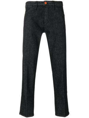 Плиссированные брюки Pt05. Цвет: чёрный