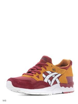 Спортивная обувь GEL-LYTE V ASICSTIGER. Цвет: белый, бордовый