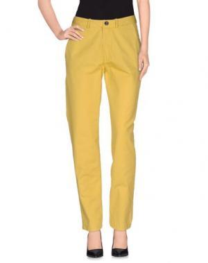 Повседневные брюки BELLEROSE. Цвет: желтый