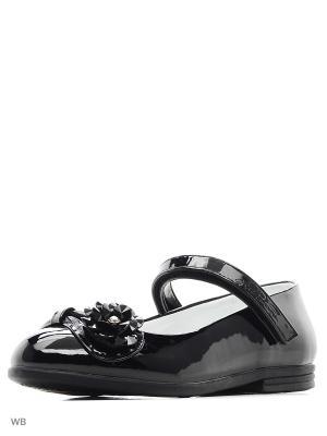Туфли Сказка. Цвет: черный, антрацитовый