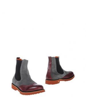 Полусапоги и высокие ботинки GABARDINE. Цвет: красно-коричневый