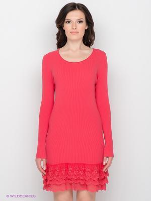 Платье Sparkle. Цвет: красный