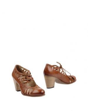 Ботинки INK. Цвет: коричневый