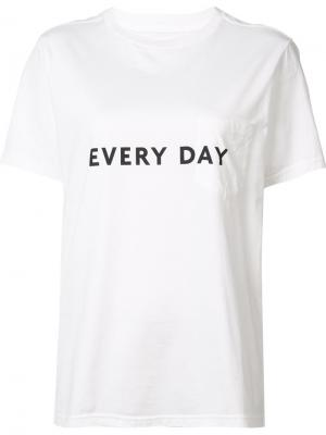 Every day T-shirt The Soloist. Цвет: белый