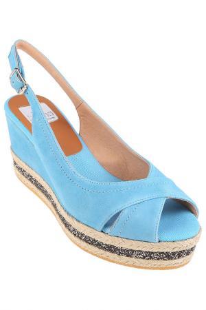 Туфли летние Kanna. Цвет: blue