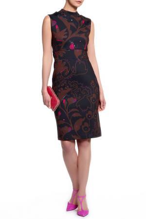 Платье Cynthia Rowley. Цвет: сине-коричневый