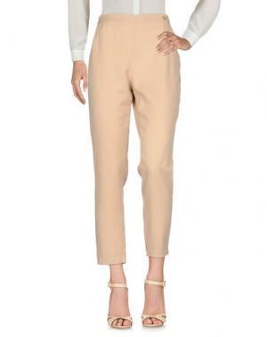 Повседневные брюки CUPLÉ. Цвет: песочный