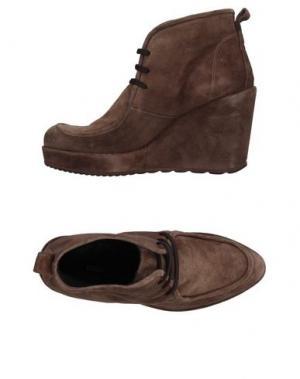 Обувь на шнурках ZINDA. Цвет: хаки