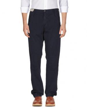 Повседневные брюки 40WEFT. Цвет: темно-синий