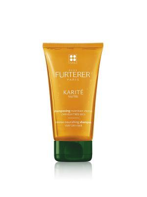 Karite Nutri Шампунь интенсивно питающий для очень сухих волос 150 мл Rene Furterer. Цвет: прозрачный