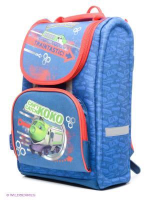 Рюкзак PROFF. Цвет: синий, зеленый, красный