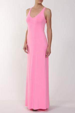 Платье джерси FEEL THE PIECE. Цвет: розовый
