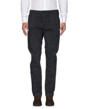 Повседневные брюки 40WEFT. Цвет: темно-коричневый
