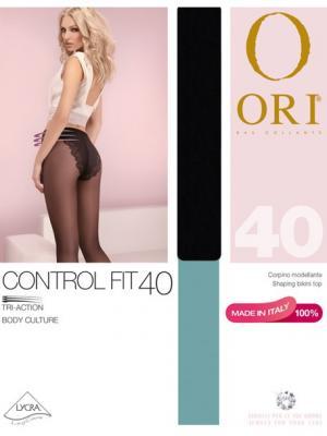 Колготки ORI Control Fit 40 den. Цвет: черный