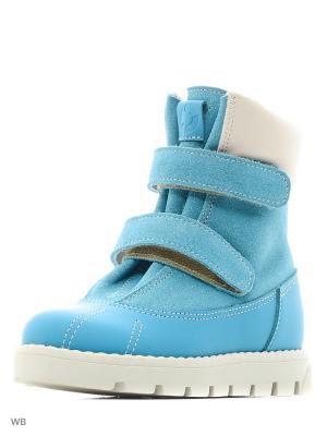 Ботинки детские 23010 ,СИДНЕЙ бирюзовый TAPiBOO. Цвет: бирюзовый
