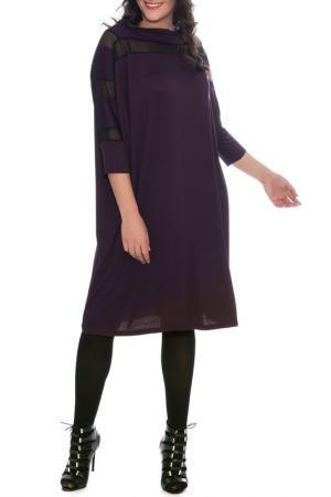 Платье VALERIA FRATTA. Цвет: purple