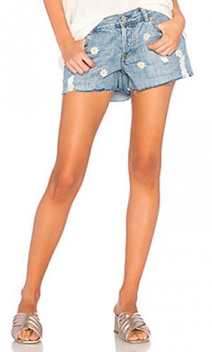 Джинсовые шорты с вышивкой jesse Rails. Цвет: none