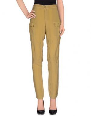 Повседневные брюки E_GO' SONIA DE NISCO. Цвет: зеленый-милитари