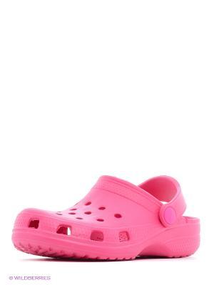 Сабо S`Cool. Цвет: розовый