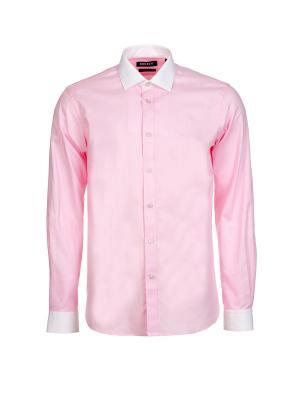 Рубашка DKNY. Цвет: розовый