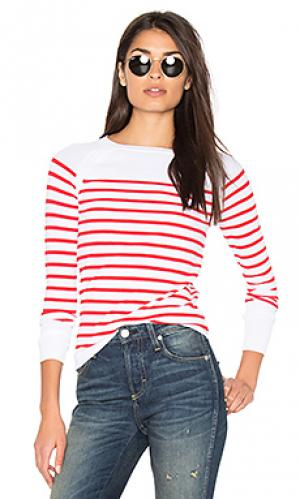 Свитер в полоску mayan 360 Sweater. Цвет: красный