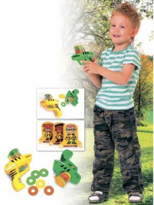 Пистолет детский ДИСКОМЕТ BRADEX. Цвет: желтый, зеленый