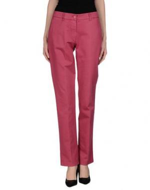 Повседневные брюки ALTEA dal 1973. Цвет: фуксия