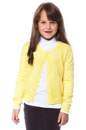 Жакет VILATTE. Цвет: желтый