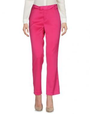 Повседневные брюки GIULIETTE BROWN. Цвет: фуксия