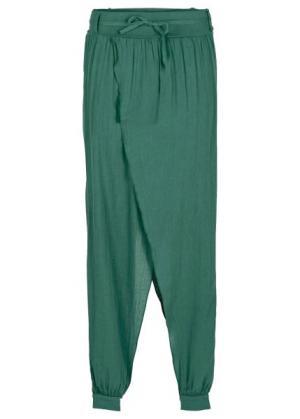 Мода больших размеров: брюки 2 в 1 (индиго с варенкой) bonprix. Цвет: индиго с варенкой