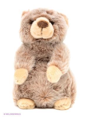 Медвежонок MAXITOYS. Цвет: коричневый