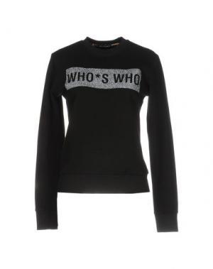 Толстовка WHO*S WHO. Цвет: черный