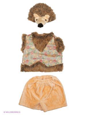 Карнавальный костюм Ёжик Тима Батик. Цвет: светло-коричневый, бежевый