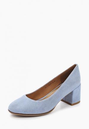 Туфли Francesco Donni. Цвет: голубой