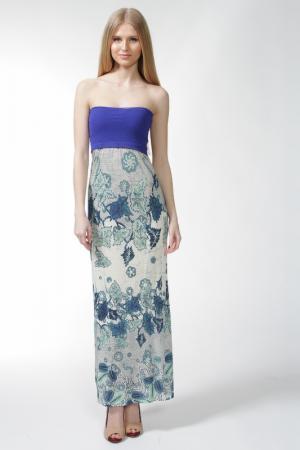 Сарафан Jean Paul Gaultier. Цвет: молочный, синий(775)