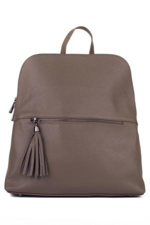 Сумка-рюкзак ULA. Цвет: бежевый