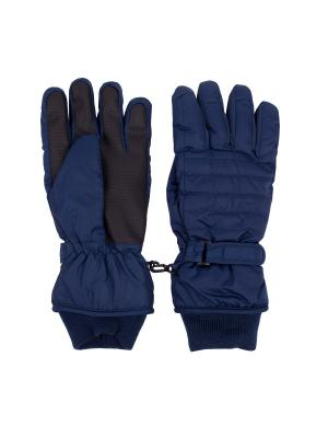 Перчатки Gulliver. Цвет: синий
