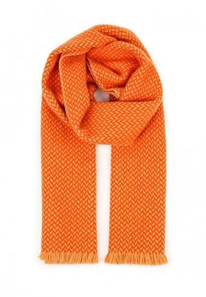 Шарф Zaroo Cashmere. Цвет: оранжевый