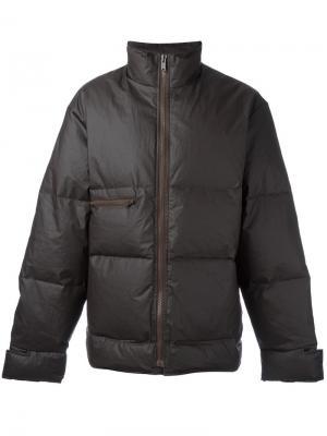 Дутая куртка Season 3 Yeezy. Цвет: коричневый